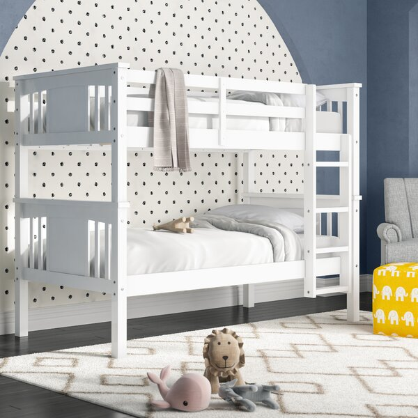 Alimi Twin Over Twin Bunk Bed By Viv + Rae by Viv + Rae Today Only Sale