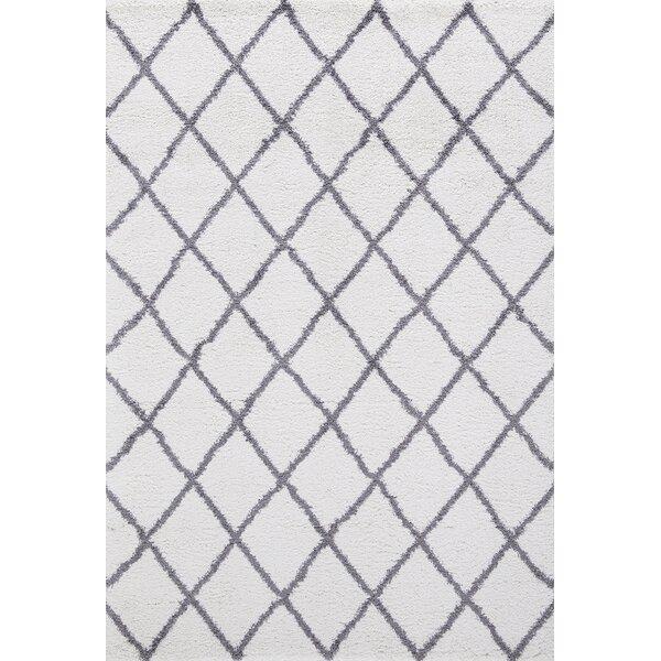Pendergraft Soft Cozy Shag Gray Area Rug by Union Rustic