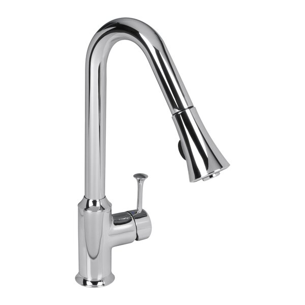 Pekoe Pull Down Single Handle Kitchen Faucet by American Standard American Standard