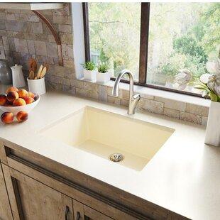 Quartz Luxe 33 L x 18 W Undermount Kitchen Sink ByElkay