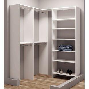 Where buy  Demure Design 59.5W - 62.25W Closet System ByTidySquares Inc.