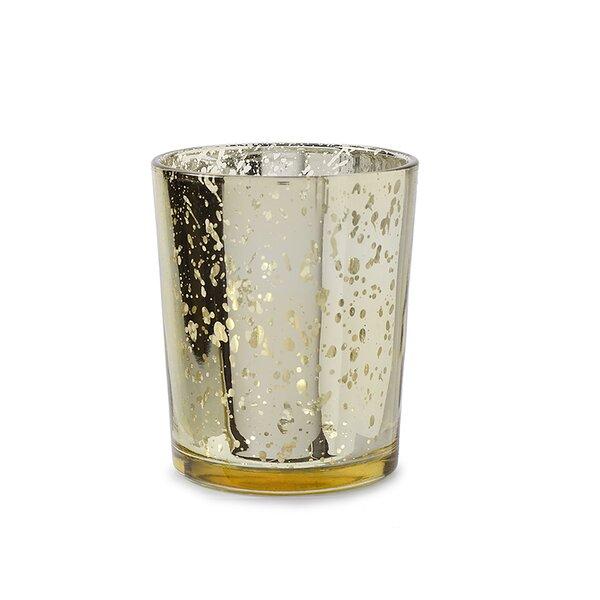 Spot Plating Glass Votive Holder (Set of 12) by David Tutera