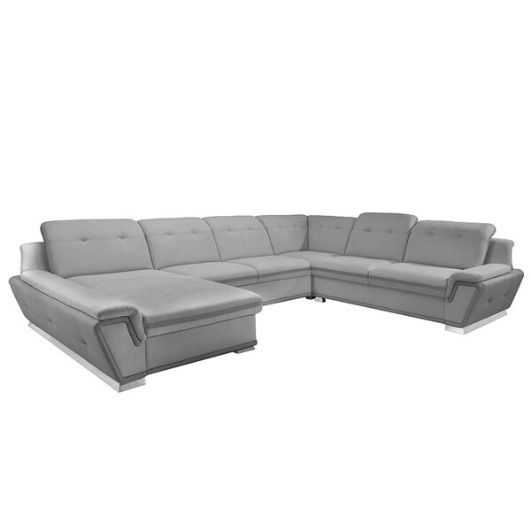 Glenam Left Hand Facing Sleeper Sectional By Latitude Run