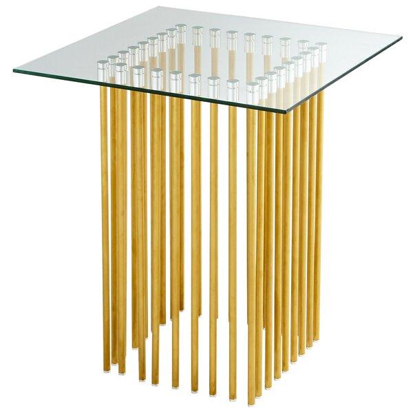 Corzetti End Table by Cyan Design