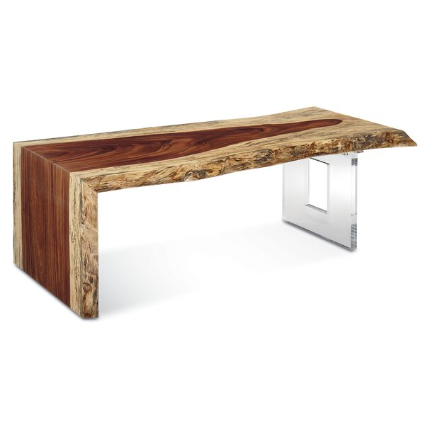 Live Edge Heritage Waterfall Coffee Table By Fairfield Chair