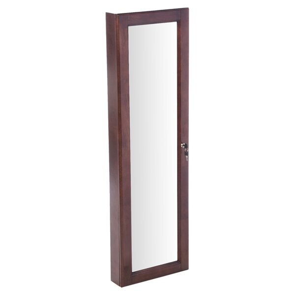 Allefra Wall Mounted Jewelry Armoire with Mirror by Wildon Home ®