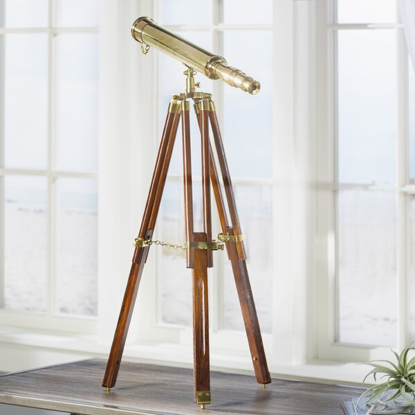 Orleans Decorative Telescope by Beachcrest Home