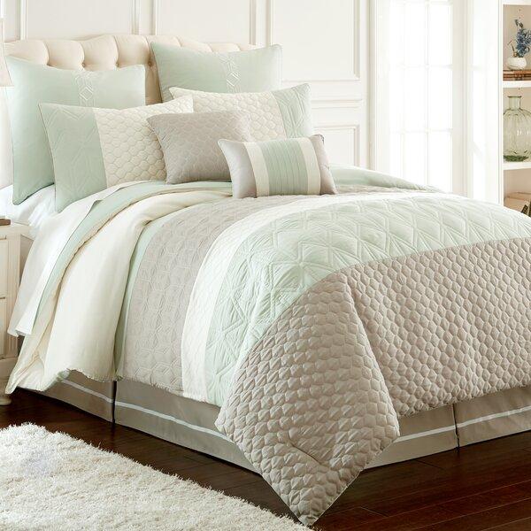 Skelley 8 Piece Reversible Comforter Set by Andover Mills