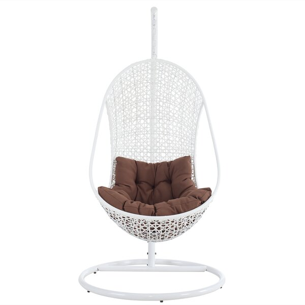 Bestow Swing Chair with Stand by Modway