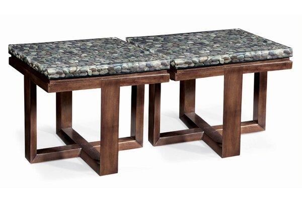 Cascade Bunching 2 Piece End Table Set By Bernhardt