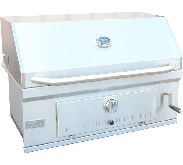 32 BBQ Grill Built-In Charcoal Grill by Kokomo Grills