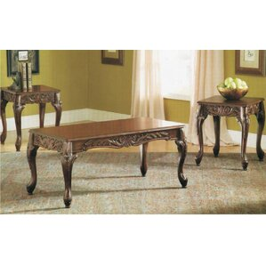 Wood 3 Piece Coffee Table Set By Astoria Grand  sc 1 th 225 & Wood 3 Piece Coffee Table Set By Astoria Grand - Up To 70%