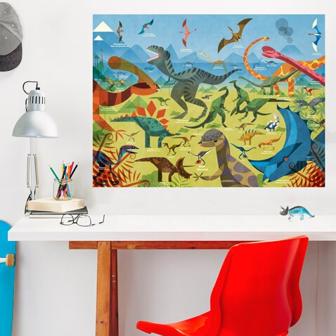 All about Dinosaurs by Daviz Wall Decal by Oopsy Daisy