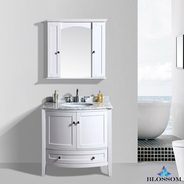 Glendale 36 Single Bathroom Vanity Set with Mirror by Darby Home Co