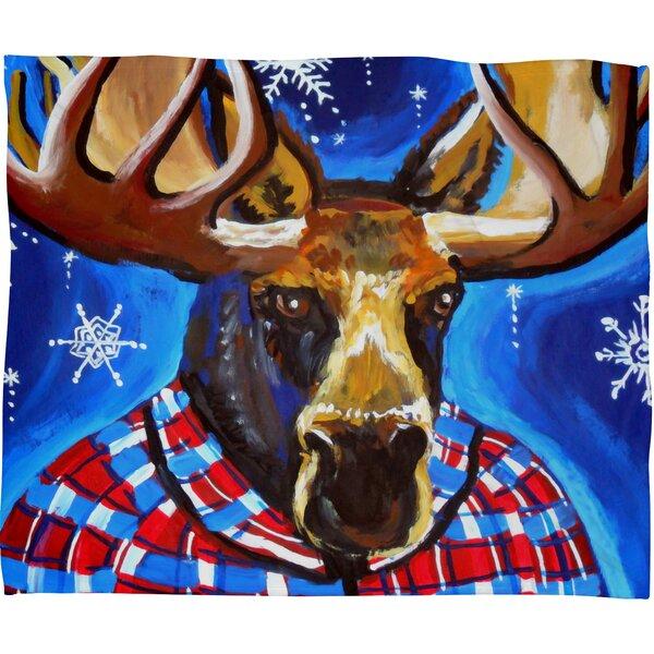 Renie Britenbucher Mahatma Plush Fleece Throw Blanket by Deny Designs