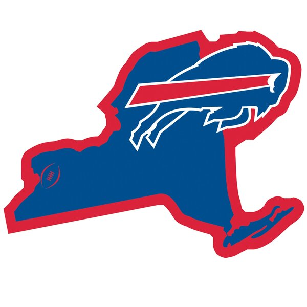 NFL Buffalo Bills Home State Magnet by Siskiyou Products