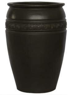 Elfrida Round Fiberglass Pot Planter by Bloomsbury Market