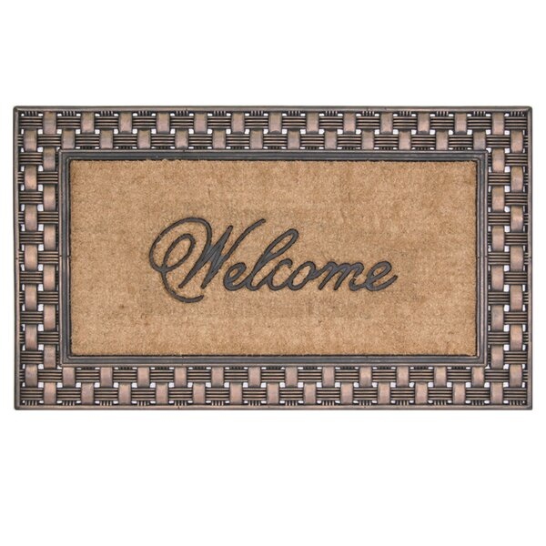 Sherborne Framed Welcome Doormat by Charlton Home