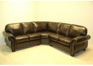 Dynamic Leather Sectional  by Wildon Home ?