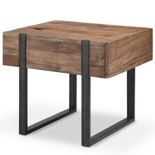 Sharri End Table by Union Rustic