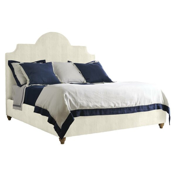 Coastal Living Retreat Upholstered Platform Bed by