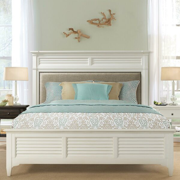 Judith Upholstered Standard Bed by Rosecliff Heights