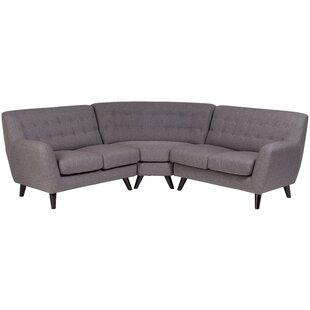 Conor Mid Century Sectional By George Oliver