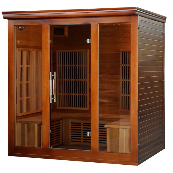 Premium Elite 5 Person FAR Infrared Sauna by Radiant Saunas