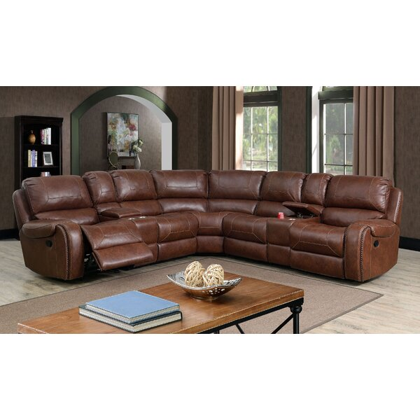 Eaddy Symmetrical Reclining Sectional By Winston Porter