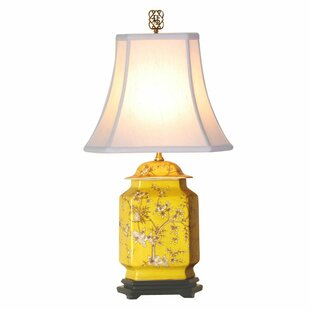 Best Reviews Abigail Jar 21 Table Lamp By World Menagerie