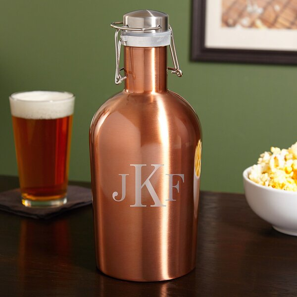 Novare Personalized 64 oz. Growler by Home Wet Bar