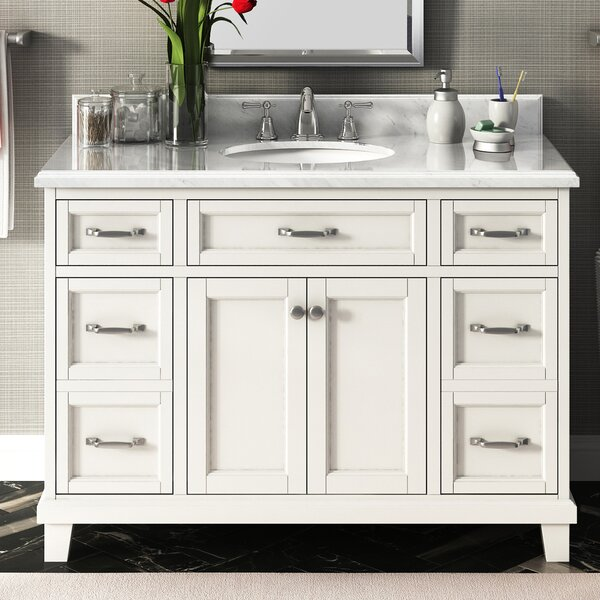 Carolina 48 Single Bathroom Vanity Set by Lanza