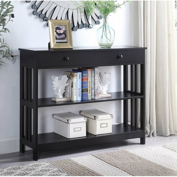 Reviews Minerva 39.5 Console Table by Andover Mills