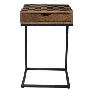 Bulloch Checkerboard End Table