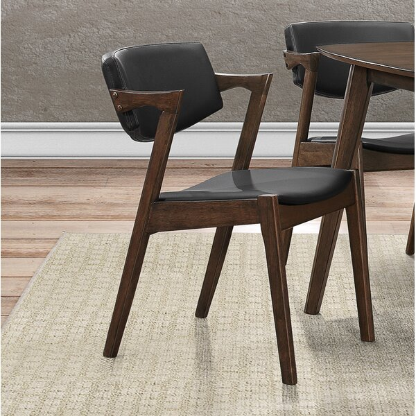 Marcel Upholstered Dining Chair (Set of 2) by George Oliver