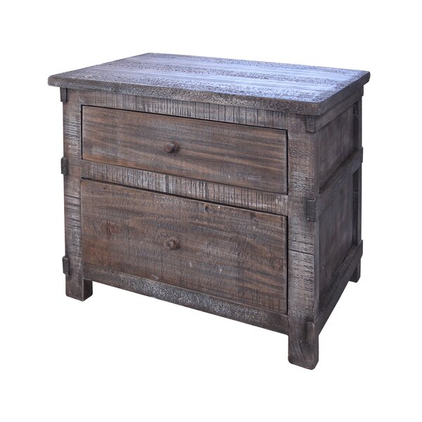 Studley 2 Drawer Nightstand by Millwood Pines