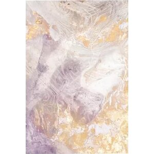'Soft Shimmer III' Painting Print on Canvas by East Urban Home