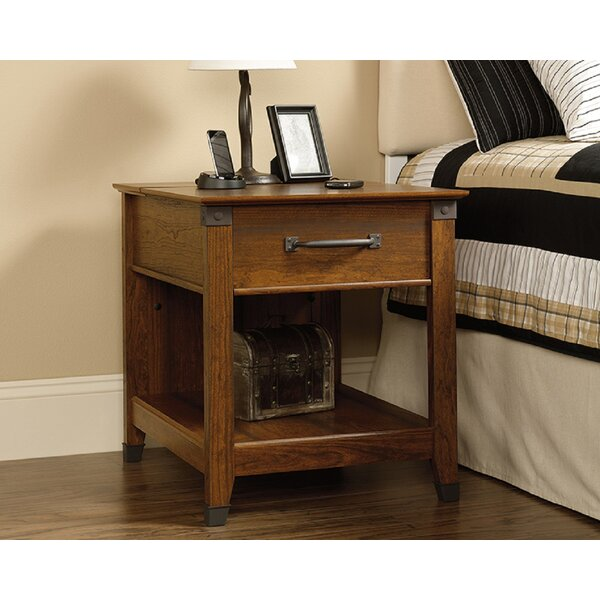 Baring End Table With Storage By Foundry Select