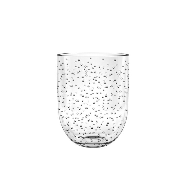 Fontaine Bubble Dof Mint 15.5 oz. Acrylic Cocktail Glass (Set of 6) by Highland Dunes