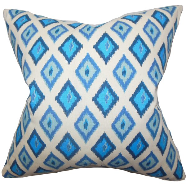 Ipomens Cotton Throw Pillow by The Pillow Collection