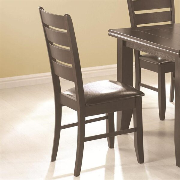 Leib Upholstered Dining Chair (Set of 2) by Alcott Hill