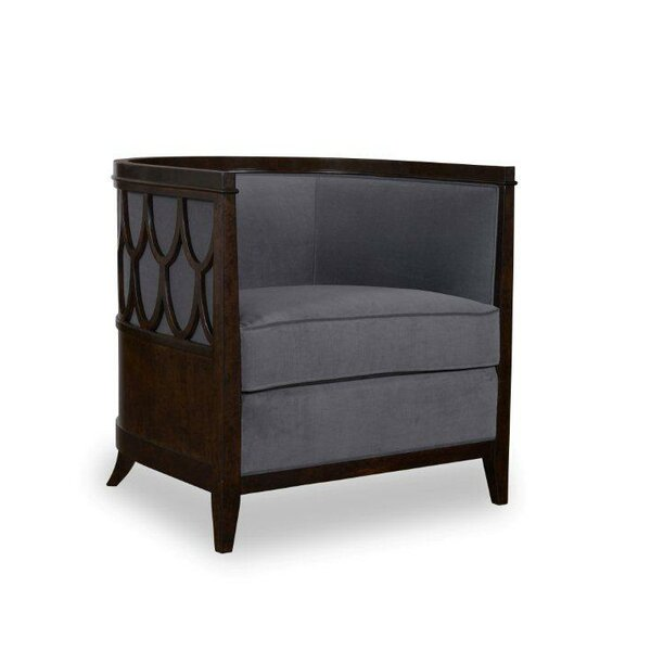 Zephyr Barrel Chair by Darby Home Co