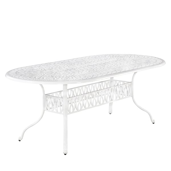 Yates Metal Dining Table by One Allium Way