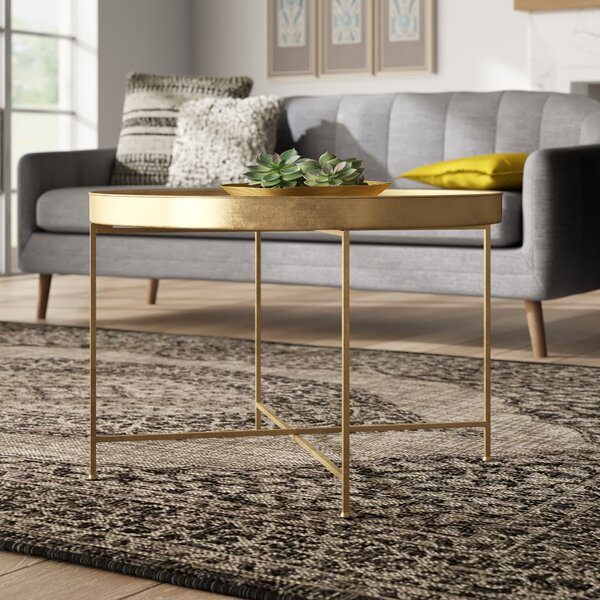Dishman Lift Top Cross Legs Coffee Table By Mercer41