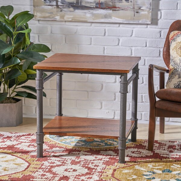 Bealeton Faux Wood End Table by Williston Forge