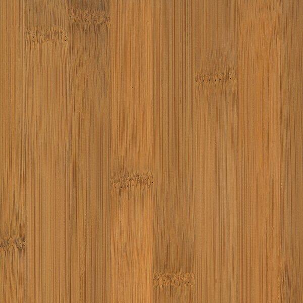 Glueless Locking 5-1/4 Engineered Bamboo Flooring in Horizontal Spice by Wildon Home ®