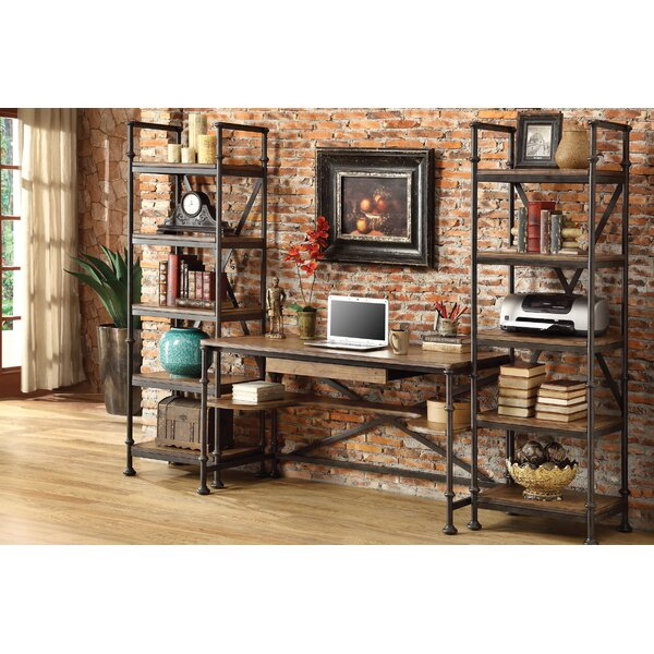 Crooker 3 Piece Desk Office Suite by Birch Lane™
