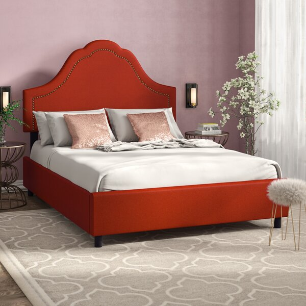 Alberts Upholstered Standard Bed by Willa Arlo Interiors