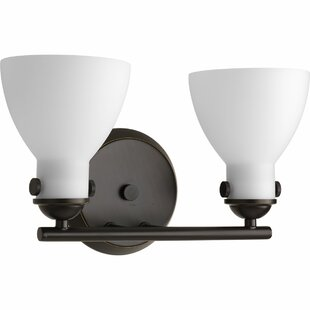 Reviews Cathal 2-Light Vanity Light By Latitude Run