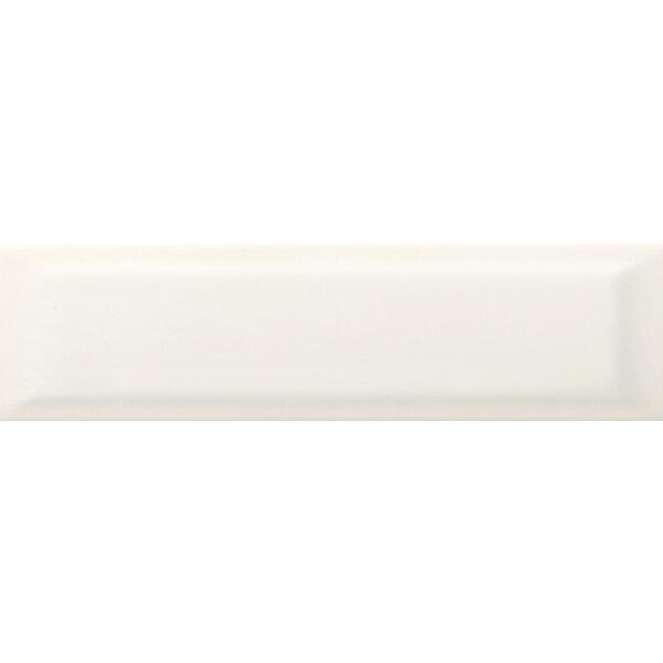 Choice Beveled 4 x 16 Ceramic Subway Tile in Glossy Bone by Emser Tile